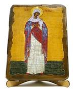 Млекопитательница Б.М., икона под старину JERUSALEM прямая (13 Х 17)
