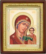 Казанская Б.М.,икона в деревянной рамке (Д-18пс-14)