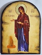 Геронтисса Б.М., икона под старину JERUSALEM, арка (13 Х 17)