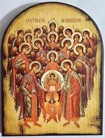 Собор Архангела Михаила, икона под старину JERUSALEM, арка (13 Х 17)