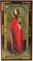 Павел, Св. Ап. (рост), с багетом. Большая Храмовая икона (58 х 110)