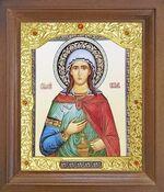 Светлана, Св.Муч. Икона в деревянной рамке с окладом (Д-26псо-148)