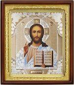 Спаситель,икона в деревянной рамке (Д-18пс-15)