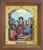 Сошествие святого духа. Икона в деревянной рамке с окладом (Д-26псо-152)
