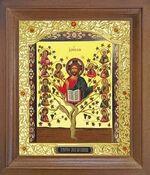 Лоза истинная. Икона в деревянной рамке с окладом (Д-26псо-153)