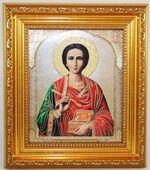 Пантелеймон, Икона в багетной рамке 14 Х 16, партия 20 шт.