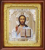 Спаситель, икона в деревянной рамке (Д-16пс-15)