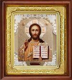 Спаситель, икона в деревянной рамке (Д-16пс-16)