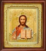 Спаситель, икона в деревянной рамке (Д-16пс-17)