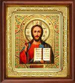 Спаситель, икона в деревянной рамке (Д-16пс-19)