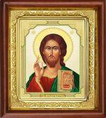 Спаситель, икона в деревянной рамке (Д-16пс-21)