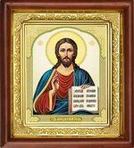 Спаситель, икона в деревянной рамке (Д-16пс-22)