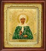 Матрона Московская, икона в деревянной рамке (Д-16пс-39)