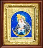 Остробрамская Б.М., икона в деревянной рамке (Д-16пс-46)