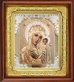 Казанская Б.М., икона в деревянной рамке (Д-16пс-08)