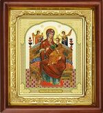 Всецарица Б.М, икона в деревянной рамке (Д-16пс-31)