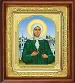 Ксения Петербургская, икона в деревянной рамке (Д-16пс-36)