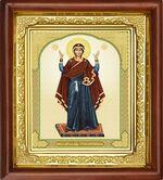Нерушимая стена Б.М., икона в деревянной рамке (Д-16пс-42)