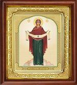 Покров Б.М., икона в деревянной рамке (Д-16пс-50)