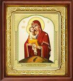 Почаевская Б.М., икона в деревянной рамке (Д-16пс-51)