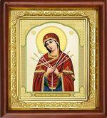 Умягчение злых сердец Б.М., икона в деревянной рамке (Д-16пс-64)