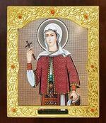 Филофея Румынская Св. Мч. Икона в окладе средняя (Д-21-161)