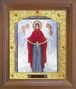 Покров Б.М. Икона в деревянной рамке с окладом (Д-26псо-169)