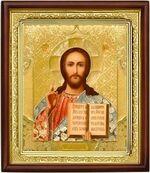 Спаситель,икона в деревянной рамке (Д-18пс-17)