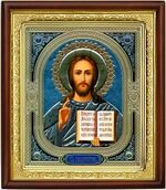 Спаситель,икона в деревянной рамке (Д-18пс-18)