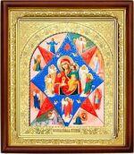 Неопалимая Купина Б.М., икона в деревянной рамке (Д-18пс-41)