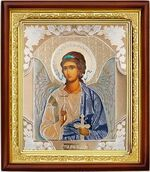 Ангел Хранитель, икона в деревянной рамке (Д-18пс-01)