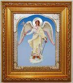 Ангел Хранитель (рост), икона в багетной рамке 14 Х 16, партия 20 шт.