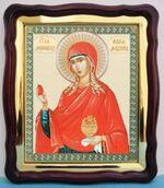 Мария Магдалина, в фигурном киоте, с багетом. Храмовая икона (43 Х 50)