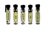 Благовоние 1,5 мл., микс №1, 5 шт. (Виноградная лоза, Византия,Миро,Иерусалим,Роза) с черной этикеткой Б-012