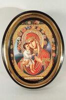 Жировицкая Б.М. Икона настольная малая, зол. кант, овал. (50 Х 65)