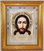 Спас Нерукотворный. Икона в багетной рамке 19 Х 22