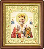 Николай Чудотворец, средняя аналойная икона (Д-20пс-25)