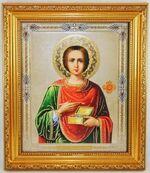 Пантелеймон, Икона в багетной рамке 19 Х 22, партия 10 шт.