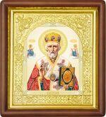 Николай Чудотворец, средняя аналойная икона (Д-17пс-25)