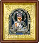 Николай Чудотворец, средняя аналойная икона (Д-17пс-28)