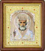 Николай Чудотворец, средняя аналойная икона (Д-20пс-29)