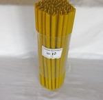 Свечи Богослужебные восковые № 10 - пачка 1 кг.