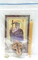 Владимир. Св. кн.  Набор для домашней молитвы (Zip-Lock). Лик, молитва, свечка, ладан, крестик