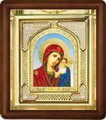 Казанская Б.М., малая аналойная икона, риза (Д-3с-12)