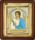 Ангел Хранитель, малая аналойная икона, риза (Д-3с-03)