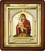 Почаевская Б.М., малая аналойная икона, риза (Д-3с-51)
