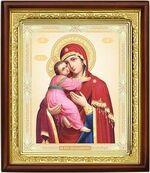 Владимирская Б.М., икона в деревянной рамке (Д-18пс-30)