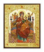 Всецарица Б.М.. Икона в окладе малая (Д-22-31)