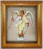 Ангел Хранитель (рост), Икона в багетной рамке 19 Х 22, партия 10 шт.
