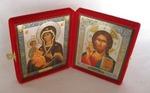 Складень мал.карт.(Троеручица (2), Спаситель (10)